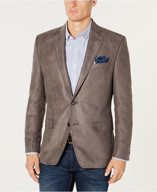 d1e522dd9db ... Lauren Ralph Lauren Men's Classic-Fit Faux-Suede Sport Coat ...