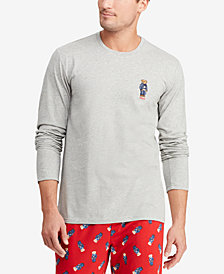 Polo Ralph Lauren Men's Polo Bear Crew-Neck Cotton Shirt