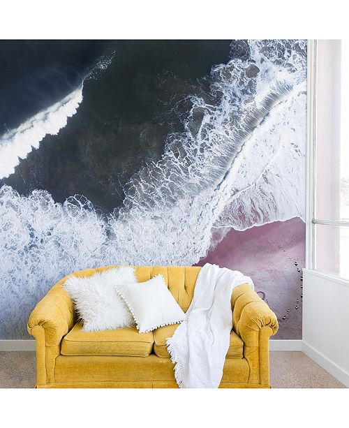 Deny Designs Ingrid Beddoes Sea Heart and Soul 8'x8' Wall Mural