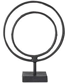 Madison Park Mara Medium Ring Decorative Sculpture