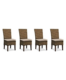 Calypso Dining Chair 4-Pc. Set (4 Woven Side Chairs)