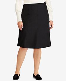 Lauren Ralph Lauren Plus Size Midi Skirt