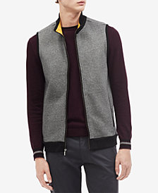 Calvin Klein Men's Classic Fit Fleece Zip-Up Vest