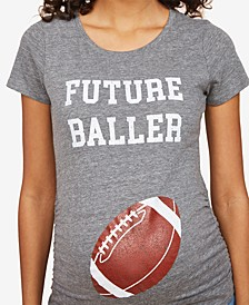 Future Baller™ Short Sleeve Maternity T Shirt