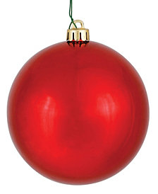 "15.75"" Red Shiny Ball Christmas Ornament"