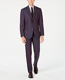 Bar III Men's Slim-Fit Solid Iridescent Suit Separates, Created for Macy's