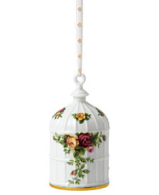 Royal Albert Old Country Roses Birdcage Ornament