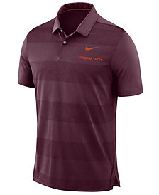 Nike Men's Virginia Tech Hokies Early Season Coaches Polo