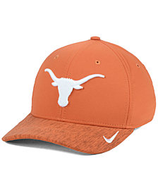 Nike Texas Longhorns Arobill Swoosh Flex Stretch Fitted Cap