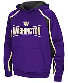 Washington Huskies Poly Pullover Hoodie, Big Boys (8-20)