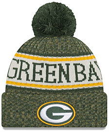 New Era Green Bay Packers Sport Knit Hat
