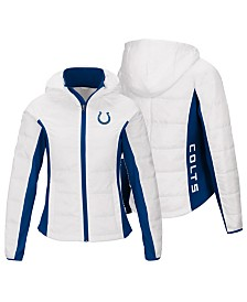 G-III Sports Women's Indianapolis Colts Defense Polyfill Jacket