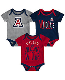 Outerstuff Arizona Wildcats Lil Tailgater 3 Piece Set, Infants (0-9 Months)