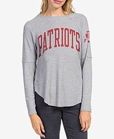 Junk Food Women's New England Patriots Thermal Long Sleeve T-Shirt