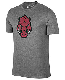 Retro Brand Men's Arkansas Razorbacks Alt Logo Dual Blend T-Shirt