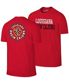 Men's Louisiana Ragin' Cajuns Team Stacked Dual Blend T-Shirt