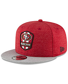 New Era Boys' San Francisco 49ers Sideline Road 9FIFTY Cap