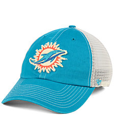 '47 Brand Miami Dolphins Canyon Mesh CLEAN UP Cap