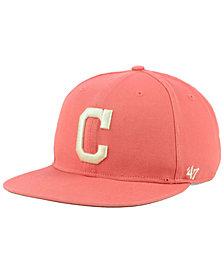 '47 Brand Cleveland Indians Island Snapback Cap