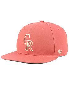 '47 Brand Colorado Rockies Island Snapback Cap