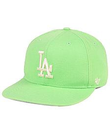 '47 Brand Los Angeles Dodgers Island Snapback Cap