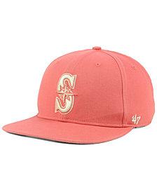 '47 Brand Seattle Mariners Island Snapback Cap