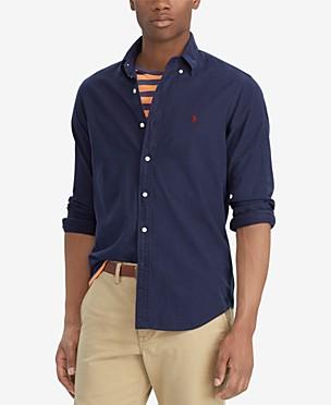 폴로 랄프로렌 Polo Ralph Lauren Mens Classic-Fit Oxford Shirt