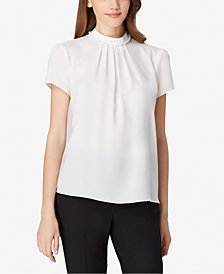 Tahari ASL Embellished Top