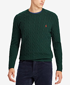Polo Ralph Lauren Men's Cable-Knit Sweater