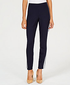 Hippie Rose Juniors' Pinstripe Skinny Pants