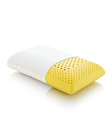 CLOSEOUT! Z Zoned Chamomile Mid Loft  Pillows with Aromatherapy Spray Collection