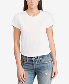 Polo Ralph Lauren Pink Pony Graphic Cotton T-Shirt