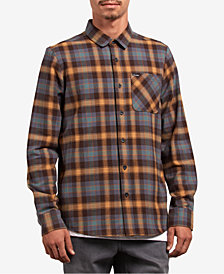 Volcom Men's Caden Plaid Shirt
