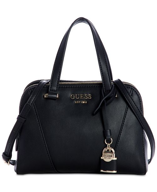 ee2fd1732b6b GUESS Shawna Cali Satchel   Reviews - Handbags   Accessories - Macy s