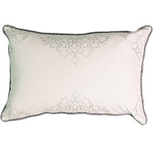 Beautyrest La Salle Foil Print Decorative Pillow
