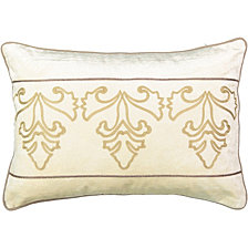 Beautyrest Sandrine Embroidered Decorative Pillow