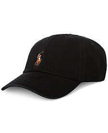 Polo Ralph Lauren Men's Big & Tall Denim Baseball Cap