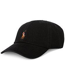 Polo Ralph Lauren Men's Big & Tall Denim Baseball Cap