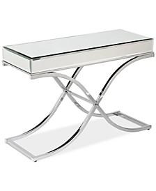Ava Mirrored Console Table