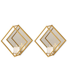 Uttermost Zulia Gold Candle Sconces Set of 2