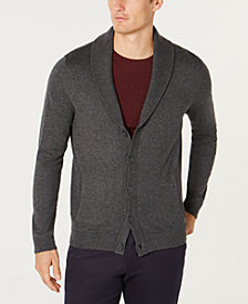 Tasso Elba Men's Shawl-Collar Cardigan, Created for Macy's