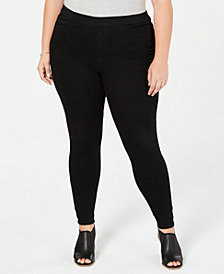 Style & Co Plus Size Black Jeggings, Created for Macy's