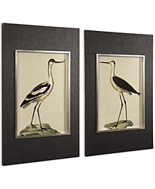 Birds On The Shore Prints Set of 2