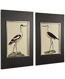 Uttermost Birds On The Shore Prints Set of 2
