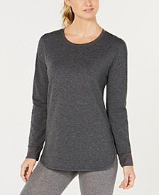 32 Degrees Long-Sleeve Fleece Top