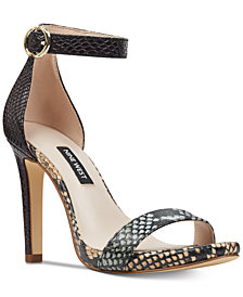 Nine West Bradery Two-Piece Sandals