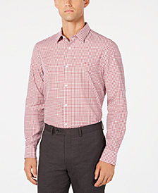 Calvin Klein Men's Classic-Fit Check Shirt