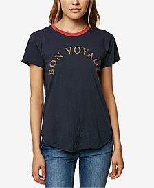 O'Neill Juniors' Nice Trip Ringer Graphic-Print T-Shirt