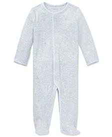 폴로 랄프로렌 남아용 우주복 Polo Ralph Lauren Ralph Lauren Baby Boys & Girls Cotton Coverall,Quartz Heather