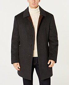 Lauren Ralph Lauren Men's Classic-Fit Ladd Tech Down Filled Grey Twill Coat